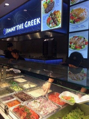 Cheap places to eat in Toronto - Jimmy the Greek