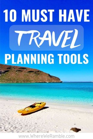 10 Travel Planning Tools