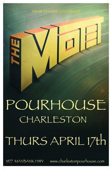 The Motet's Album Release Party w/ The Broadcast | The Charleston Pour House | Charleston, SC