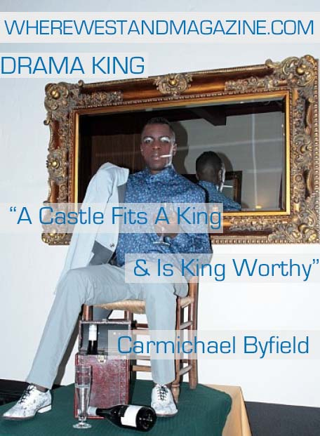 """Drama King"" By Carmichael Byfield Featuring Model Donnevan Vanier 