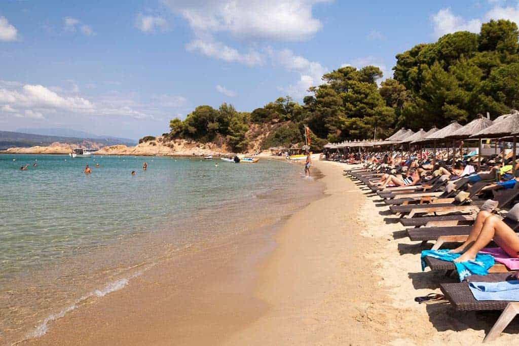 Big Banana Beach Skiathos