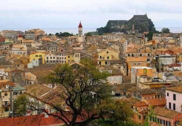 Kerkyra Roof Tops Corfu