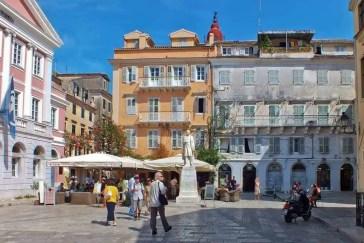 Kerkyra Streets Corfu