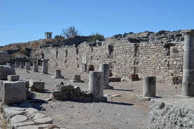 Ancient Thera Santorini