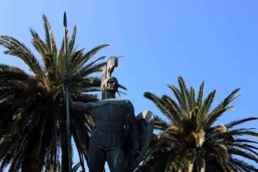 Achilleion Achilles Statue Corfu