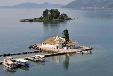 Vlacherna Monastery Corfu