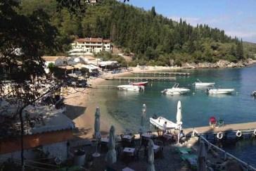 Agni Bay Beach Corfu