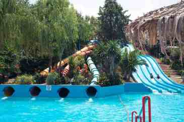 Aqualand Slides Corfu