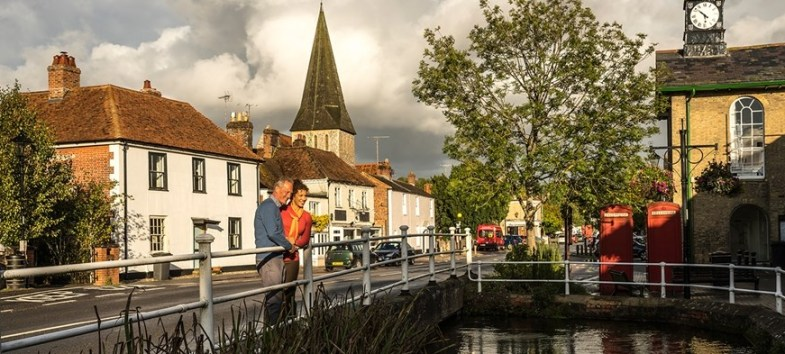 Picture of Hampshire Town.