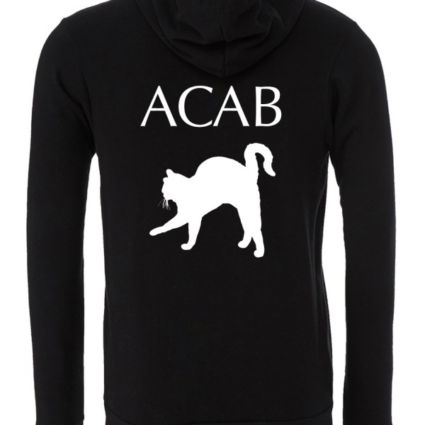 ACAB-Cat-Black-Zipper-Hoodie-Back