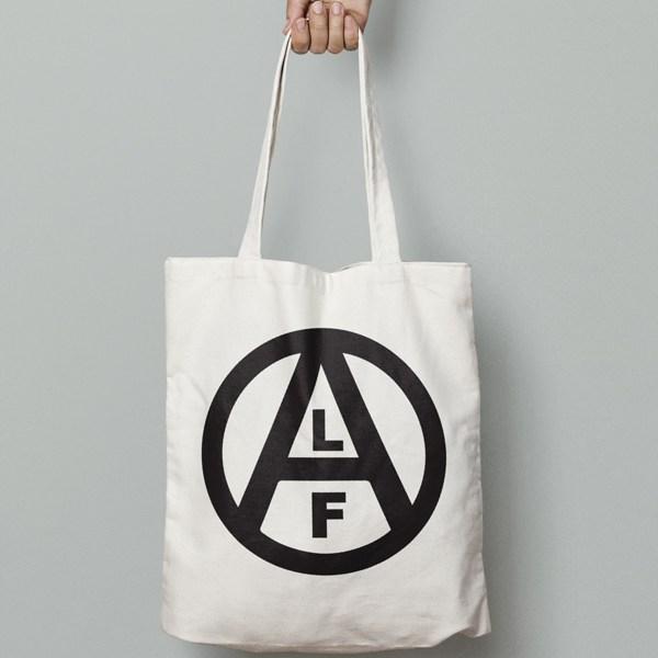 Circle-ALF-Canvas-Tote-Bag-Black