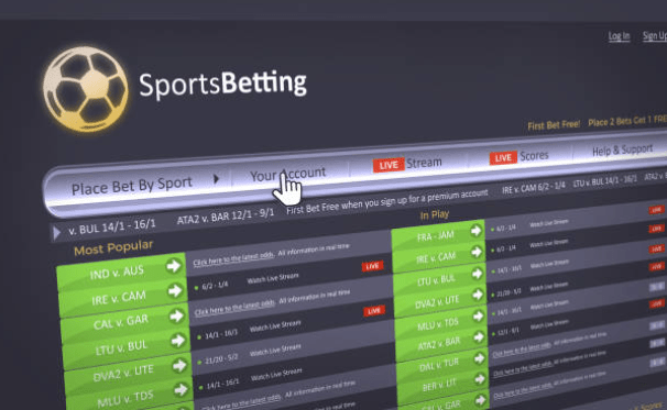sport betting from PC