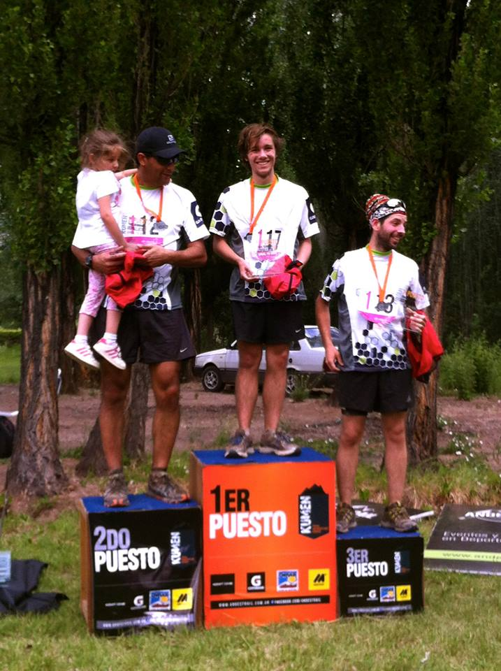 Adventure trail race in Argentina