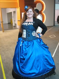 Beautiful TARDIS dress