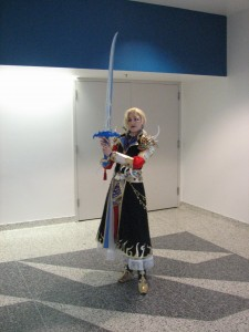 Final Fantasy (I believe 4) character