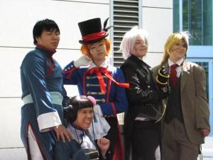 Lao, Ran Mao, Drossel, Snake and Undertaker