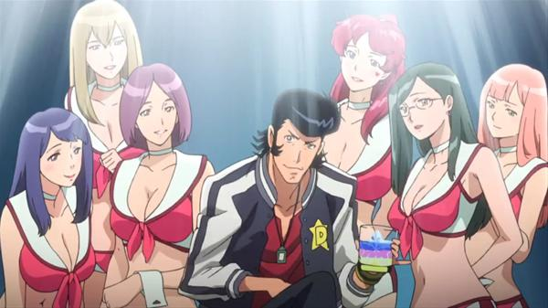 Dandy and the Boobies girls