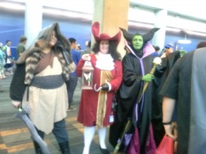 Shan Yu, Captain Hook and Maleficent