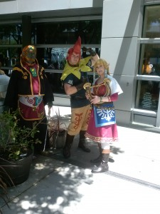 Zelda, Groose and Ganon  from Skyward Sword