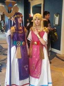 A tale of two Zeldas