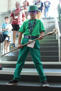 Riddle me this Comic Con patron...