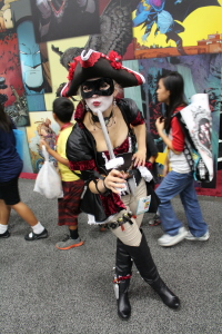 I think this is supposed to be a pirate Harley Quinn. Please correct me, if I'm wrong.