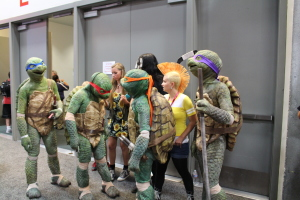 Amazin Teenage Mutant Ninja Turtle cosplay