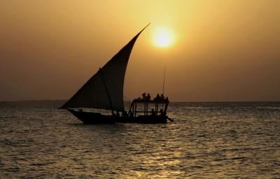 ZANZIBAR ( sunset cruise )