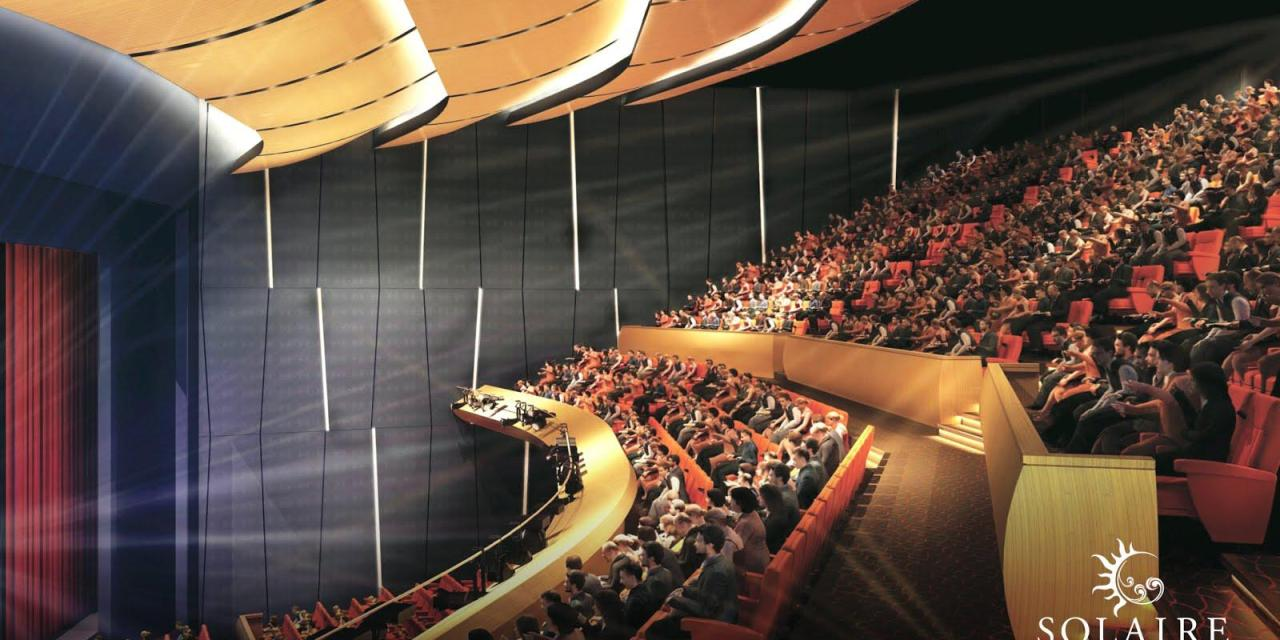 The Curtain Rises for The Theatre at Solaire