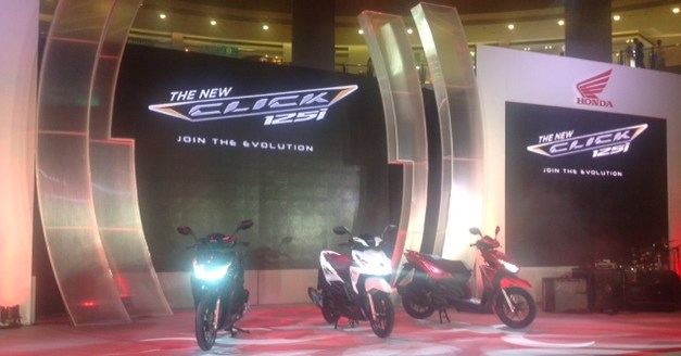 Join the new evolution with Honda Click 125i