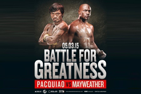 Where to watch the Pacquiao -  Mayweather fight
