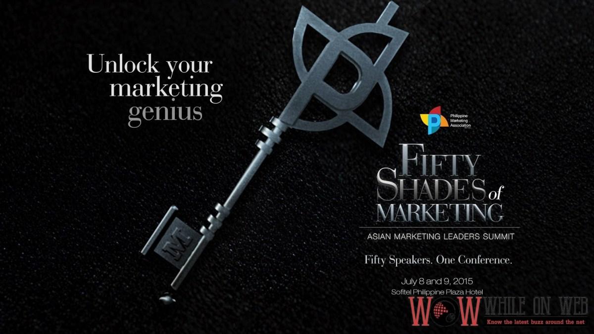 50 Shades of Marketing: Unlock Your Marketing Genius