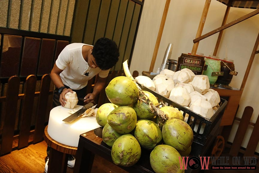 Fresh Buko Station - A Buffet of Philippine Culinary Heritage at Marriott Manila