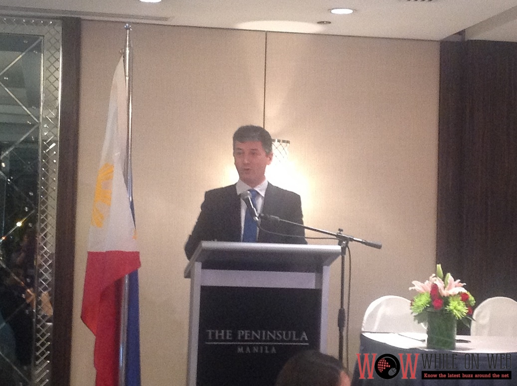 Mr. Simone Colombara, Managing Director of CRIF Philippines