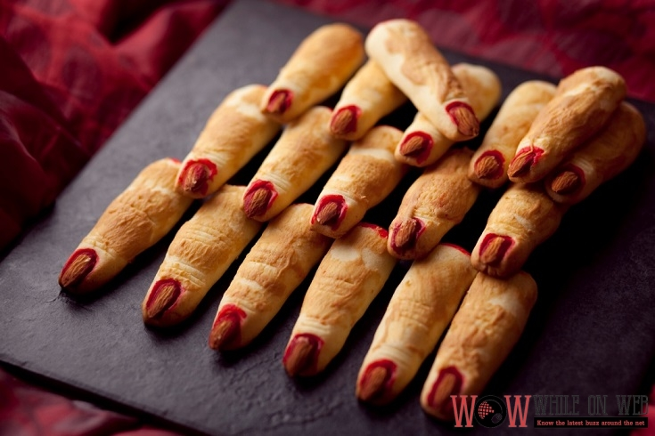 Count Dracula Finger Cookies Made of rich and dreamy peanut butter