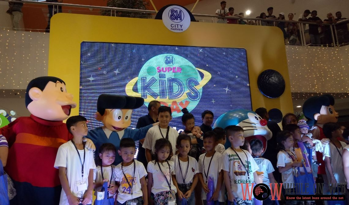 It's SM Kids' Month at SM malls nationwide