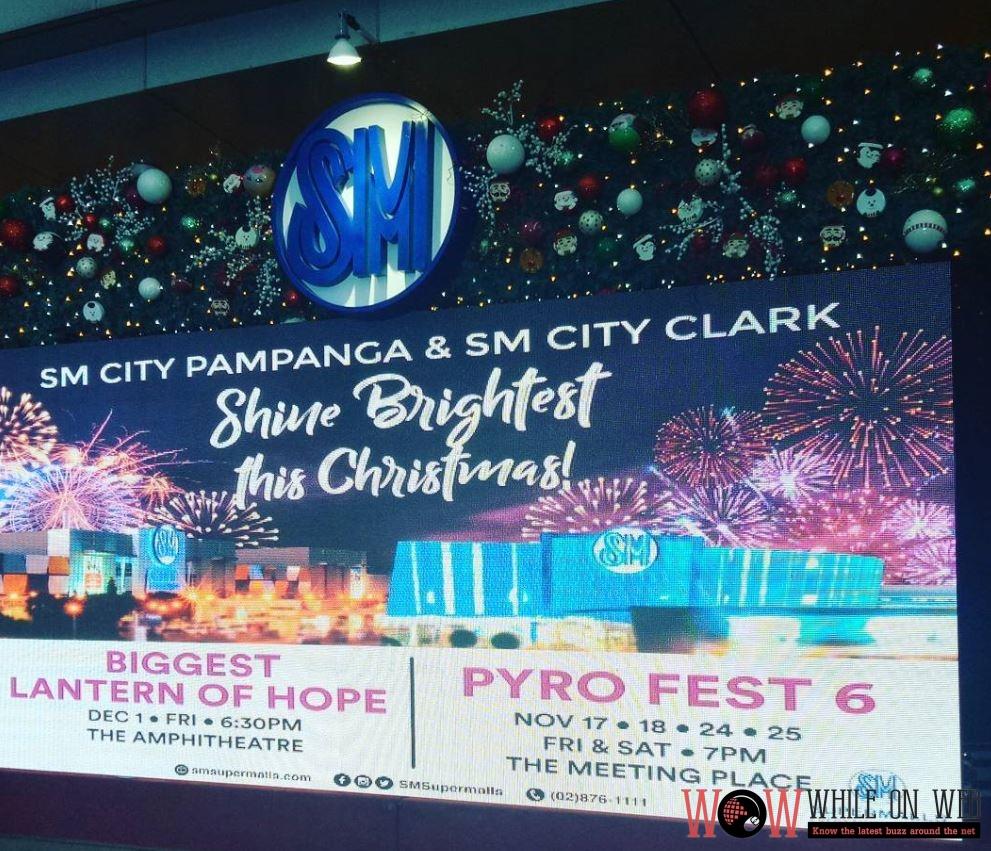 SM City Pampanga and SM City Clark Shine Brightest This Christmas 2017