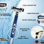 Shave Smooth with Schick Exacta 2