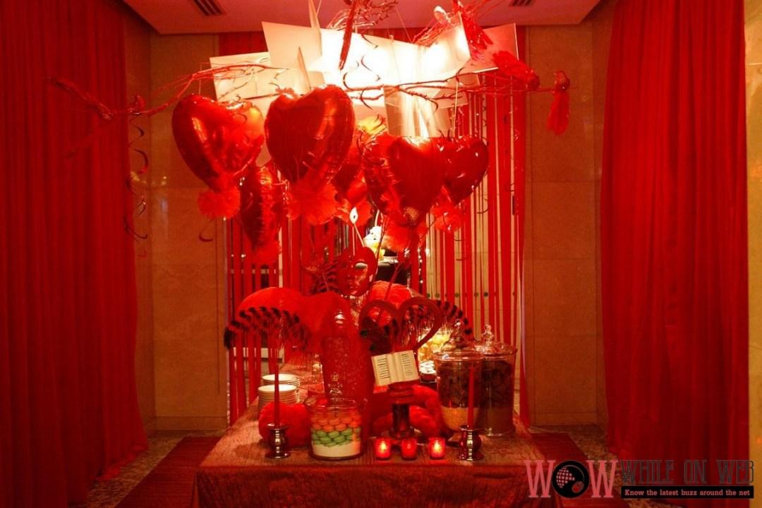 It's A 50 Shades Valentines at Marriott Manila