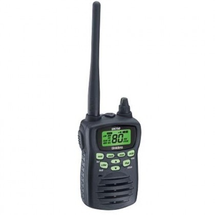 Uniden, UH750, 5 Watt, UHF, Waterproof, CB, Handheld Radio