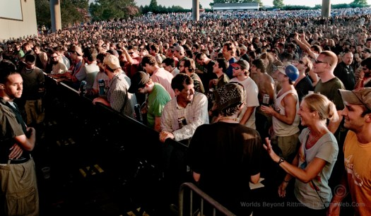 Phish Crowd in Charlotte 7/2/10, Jamband, Photography Rittman Top 10 Best Photoblogs Photography