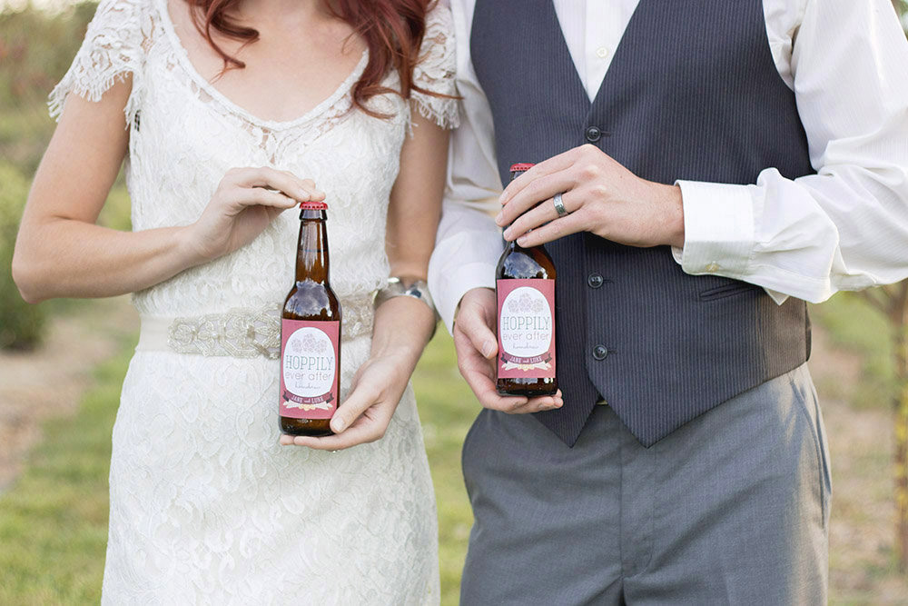 Image result for custom beer labels wedding