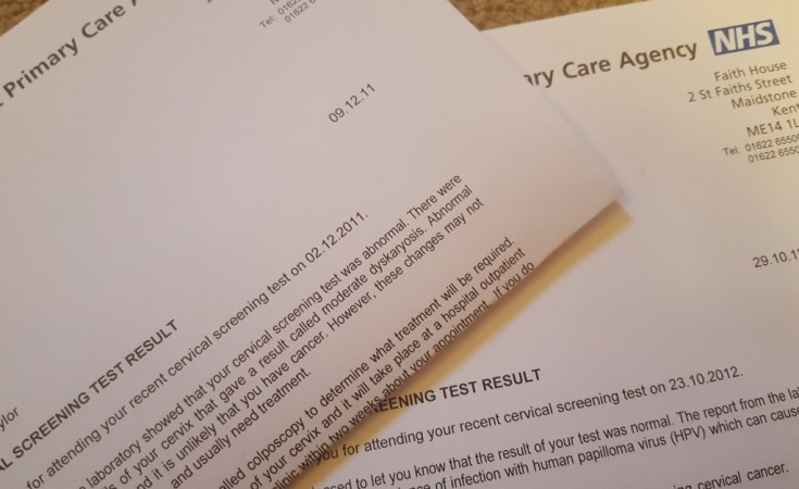 Fears tears abnormal smears my story for smearforsmear week cervical screening smear test result solutioingenieria Gallery