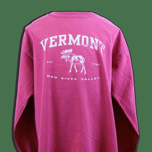 Vermont Moose Long Sleeve T-Shirt