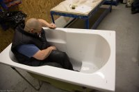 Jura Deep soaking bath with personalised bespoke fitting