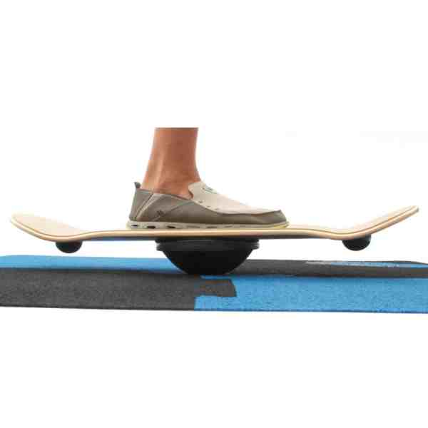 whirly board single leg balance ankle exercise