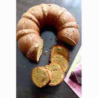 Coffee and Walnut Bundt Cake