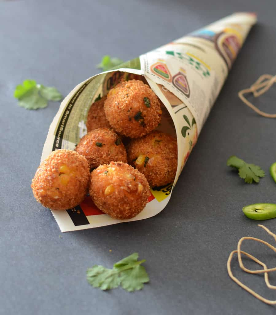 Corn and Cheese Balls Recipe, How to make Corn and Cheese Balls