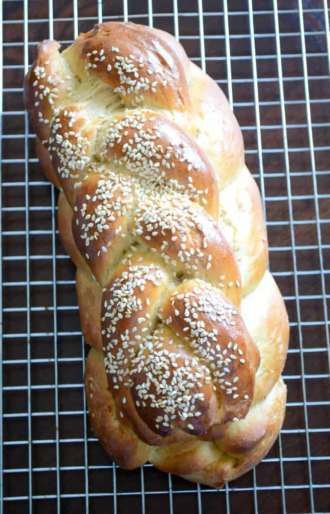 Whole Wheat Challah Bread