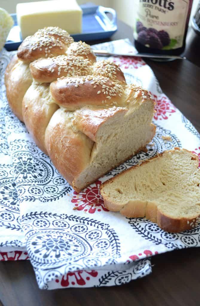 Whole wheat Challah